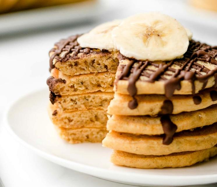 Банановые панкейки - рецепт