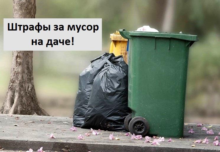 Что делать с мусором на даче