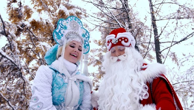 Дед Мороз и Снегурочка - история героев