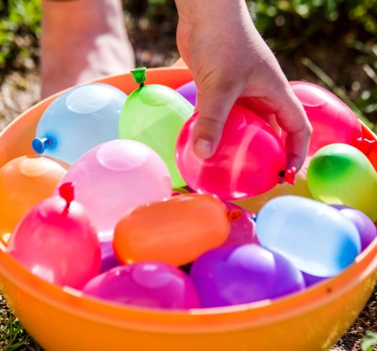 Детский конкурс - мыльный пузырь