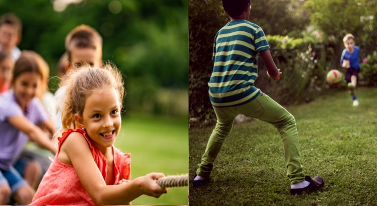 Детские игры и конкурсы для улицы