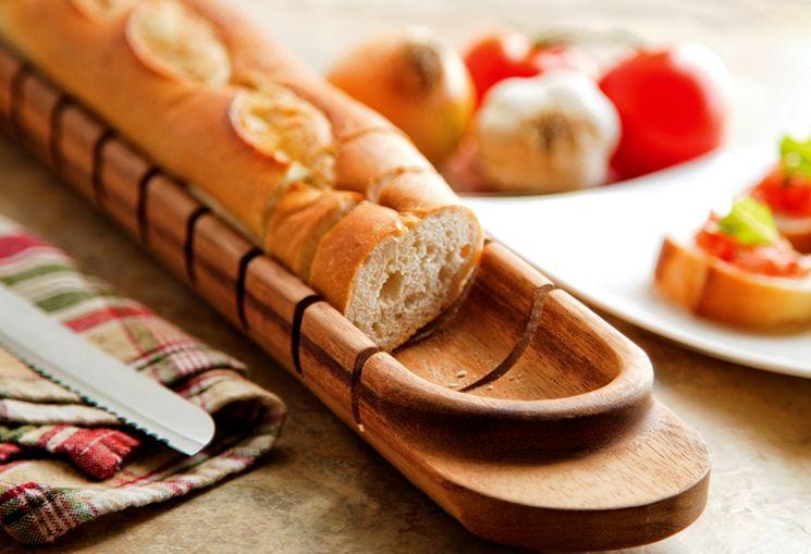 Оригинальная доска для резки хлеба