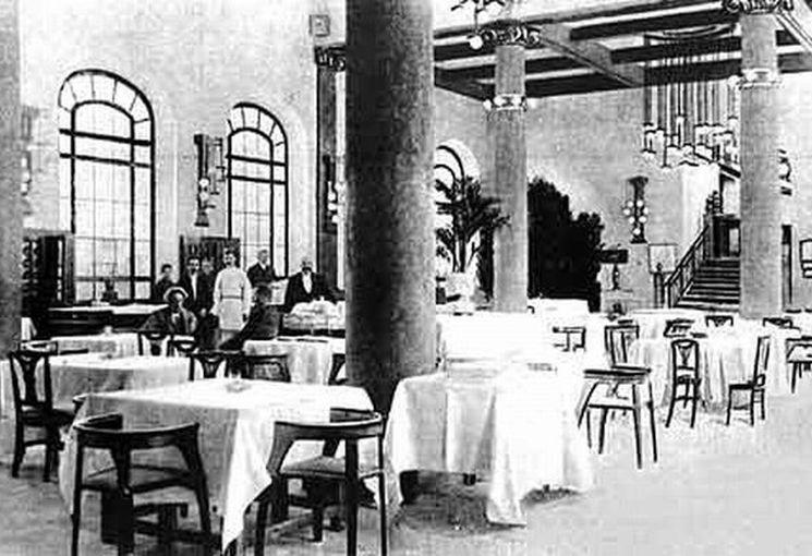 Фото ресторана Эрмитаж начала 20 века
