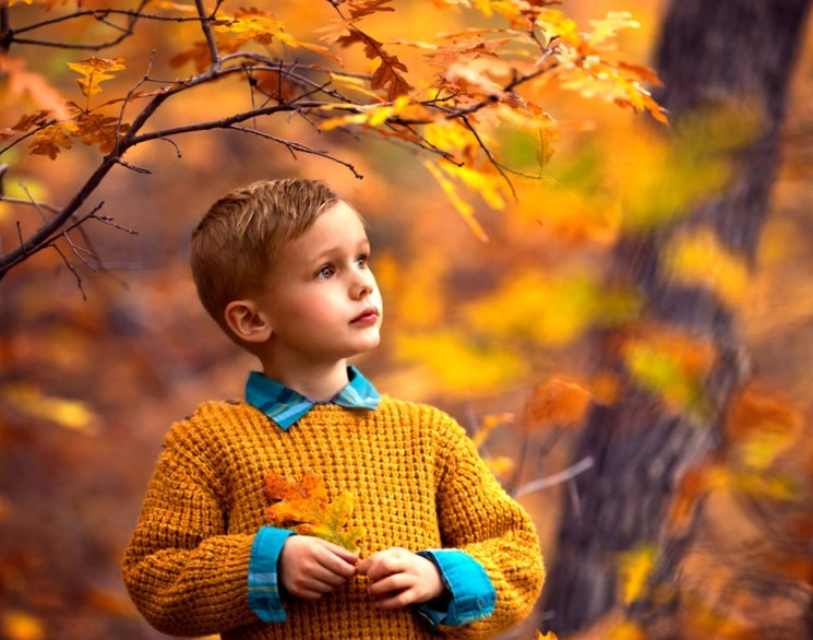 Фотосессия на природе - осень