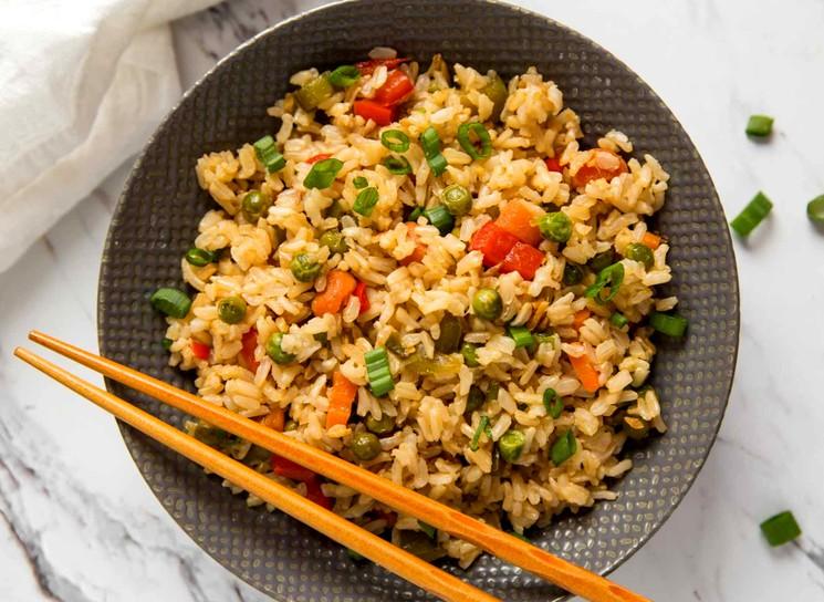Гарнир из риса - пошаговый рецепт