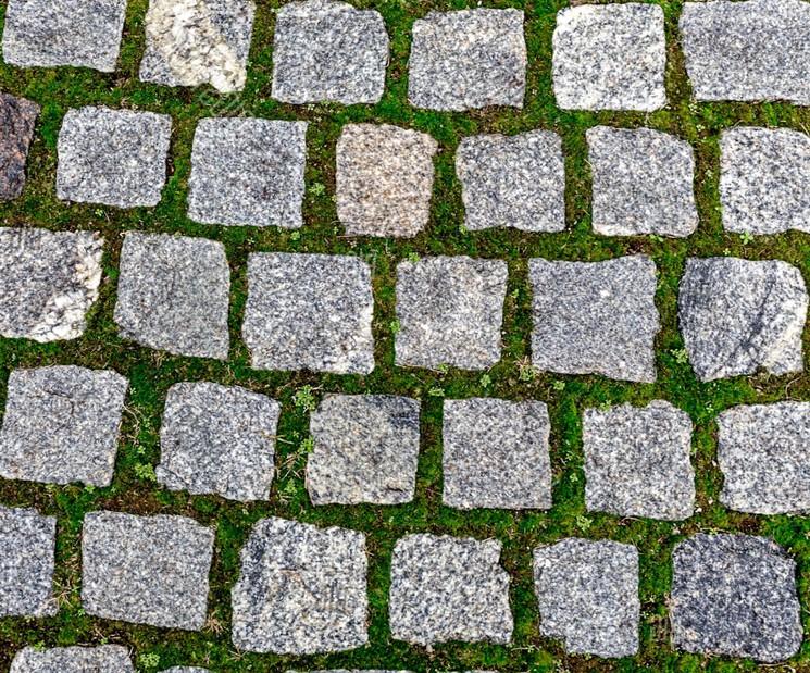 Как избавится от травы на тротуарной плитке