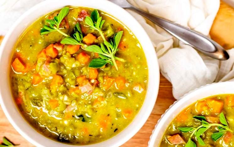 Гороховый суп с ветчиной - ингредиенты