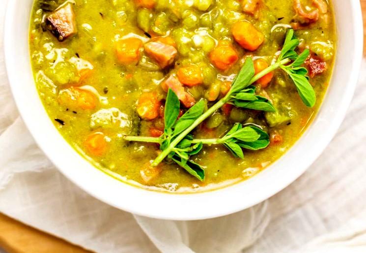 Гороховый суп с ветчиной - пошаговый рецепт