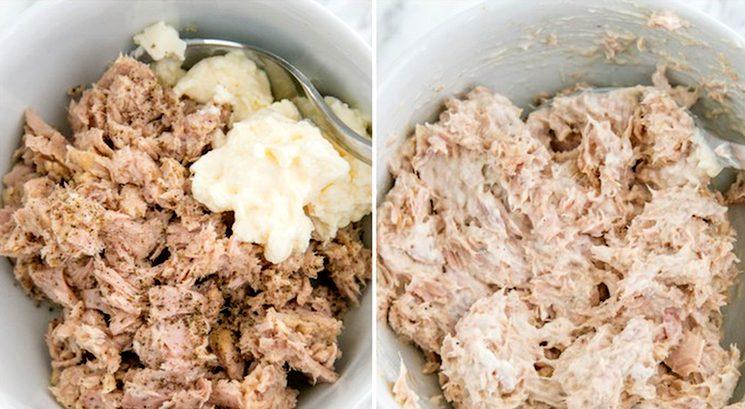 Готовим новогодний салат Мимоза