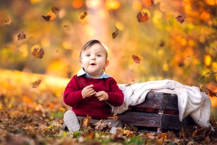 Идеи для осенней фотосессии вашего малыша