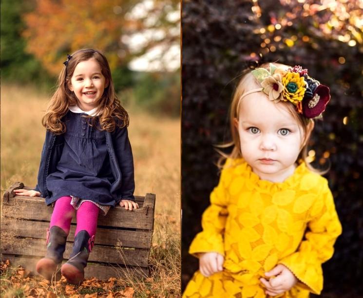Идеи для осенних фото ребёнка