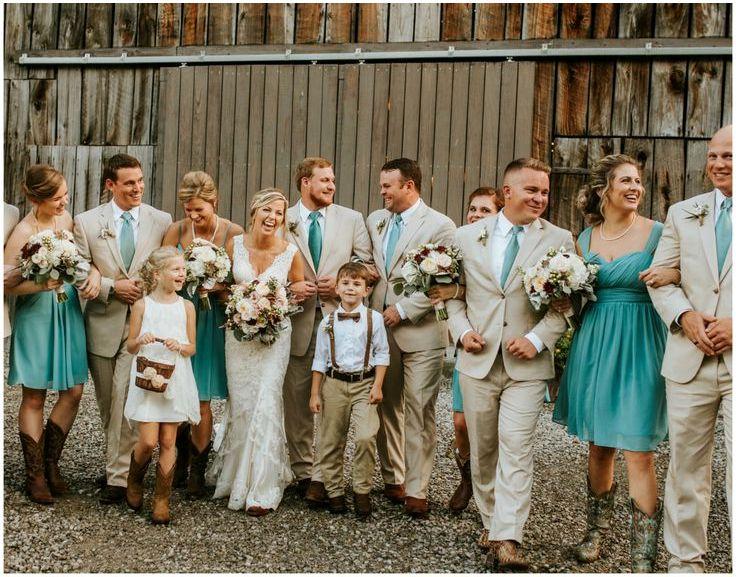 Эффектная свадьба в стиле «Кантри»