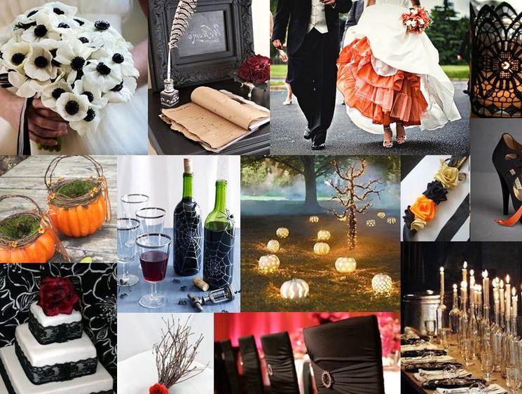 Яркая свадьба в стиле Хэллоуин