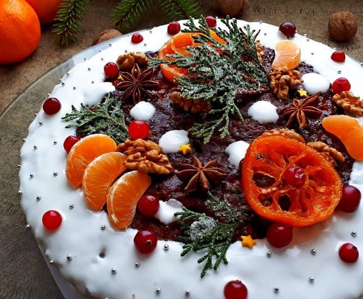 Готовим Английский Рождественский кекс