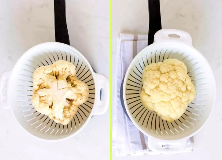 Как приготовить гарнир из цветной капусты - рецепт