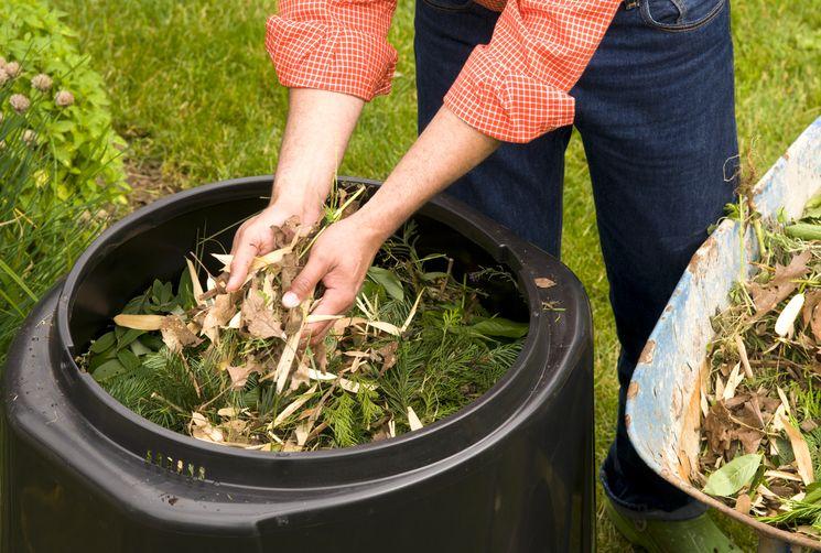 Как закладывать компост