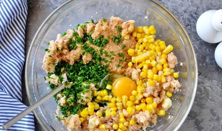 Рецепт картофельно-рыбных котлет шаг 3
