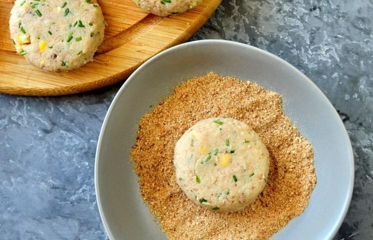 Рецепт картофельно-рыбных котлет шаг 6