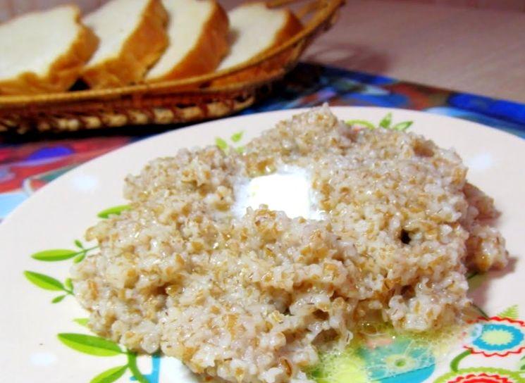 Классический рецепт пшеничной каши