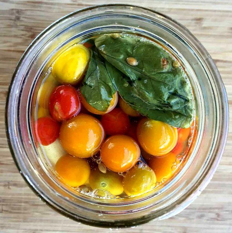 Консервированные помидоры рецепт