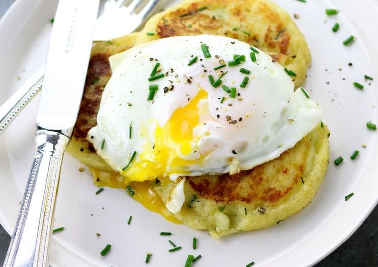 Котлетки из картошки - простой рецепт