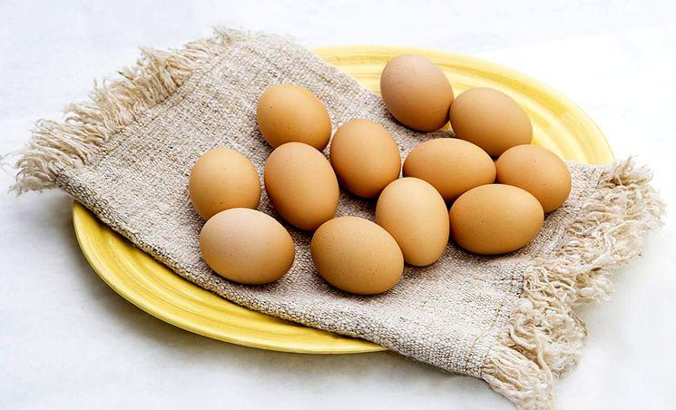 Куриные яйца для пасхи