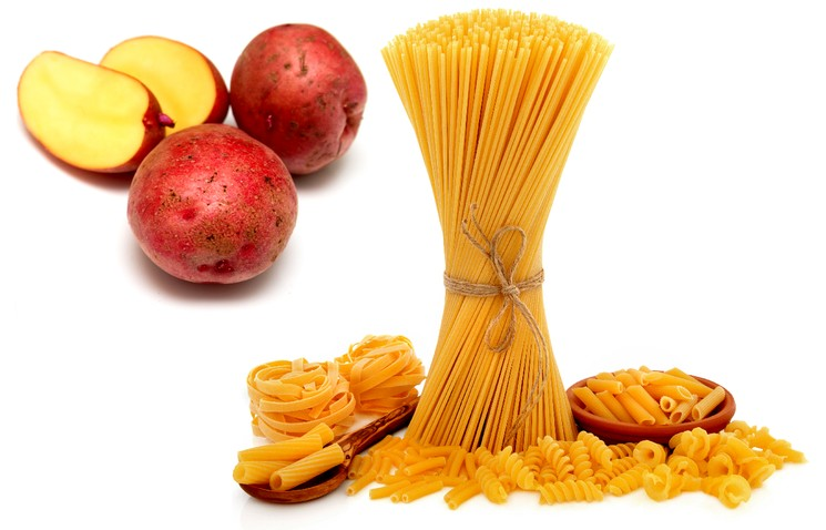 Макароны и картошка вредят фигуре