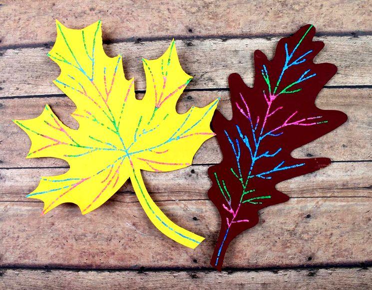 Как сделать осенние листья из бумаги