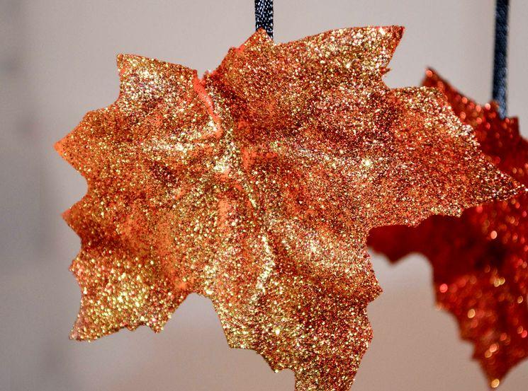 Делаем осеннюю игрушку в садик - золотые листья
