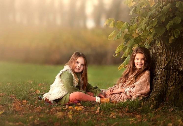 Осенняя фотосессия для ребёнка - идеи