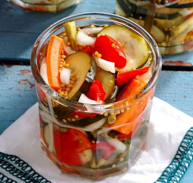 Овощи на зиму - рецепт салата ассорти