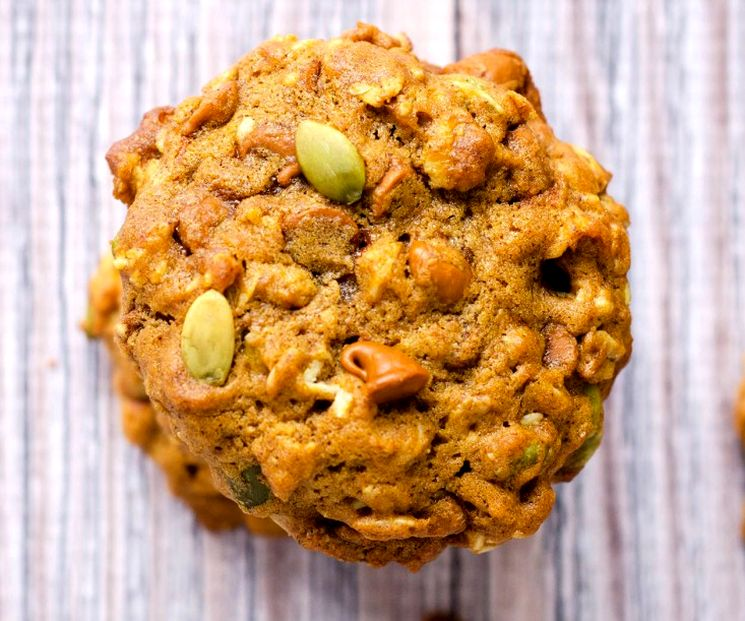 Овсяное печенье с тыквой - рецепт