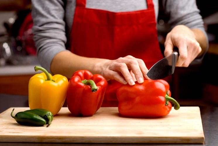 Перец фаршированный без мяса - как приготовить фаршированные перцы в маринаде