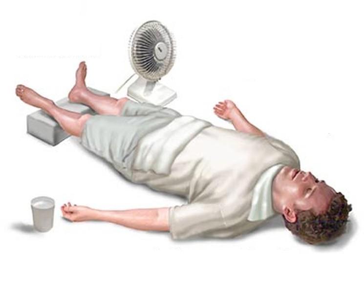 Первая помощь пострадавшим от солнечного и теплового удара
