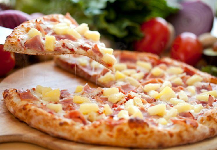 Пицца из бездрожжевого теста