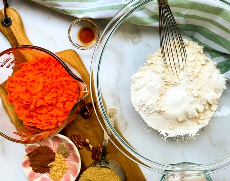 Простой рецепт морковного торта