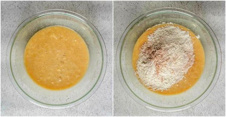 Рецепт бананового торта шаг 1