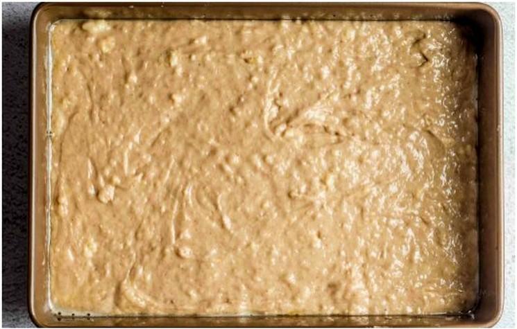 Рецепт бананового торта шаг 3
