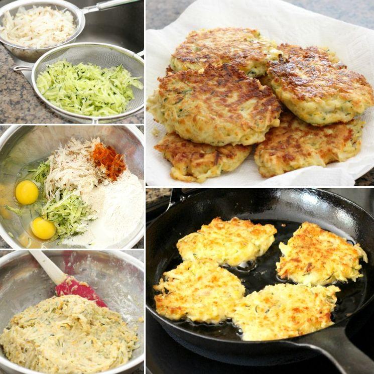 Рецепт кабачковых оладий в духовке