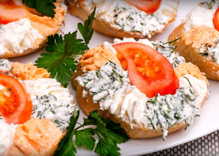 Приготовление кучерявых бутербродов