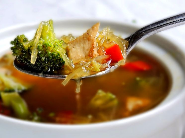 Рецепт куриного супа с брокколи