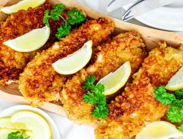 Рецепт курятины в хрустящей панировке