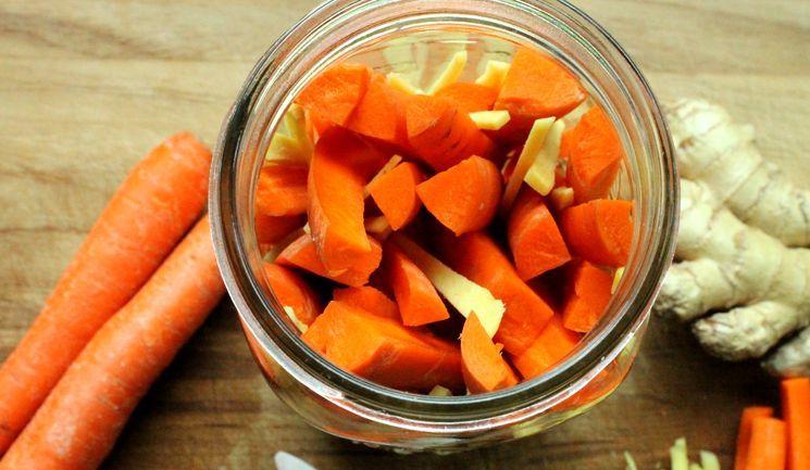 Ингредиенты для приготовления маринованной морковки