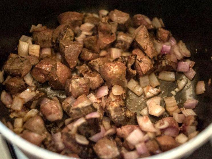 Рецепт подливы из печени
