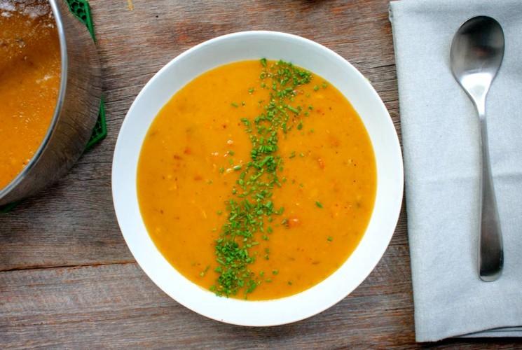 Рецепт приготовления горохового супа вкусно