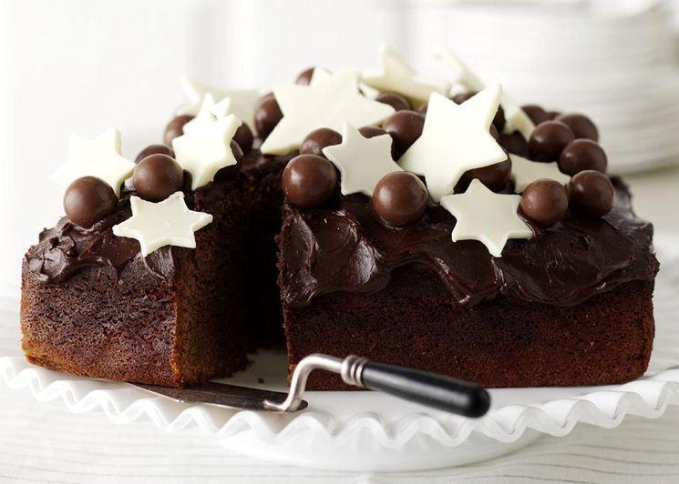 Рецепт шоколадного кекса с глазурью