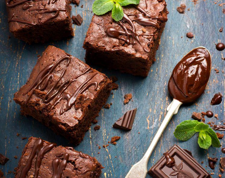 Тающий брауни - один из лучших рецептов шоколадного пирога