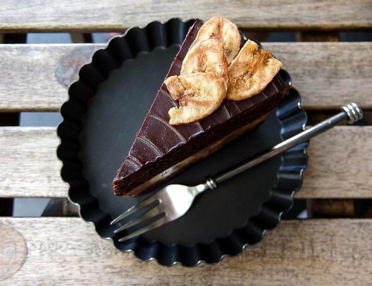 Готовим шоколадно-банановый торт