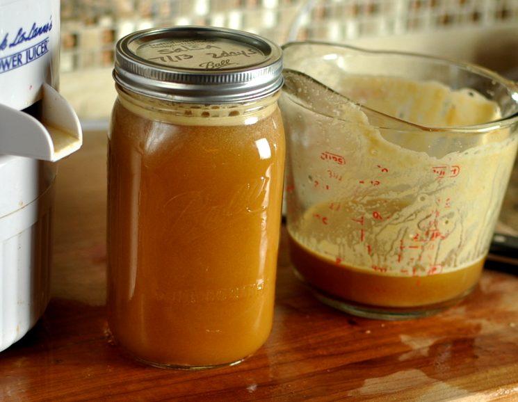 Рецепт яблочного уксуса из сока