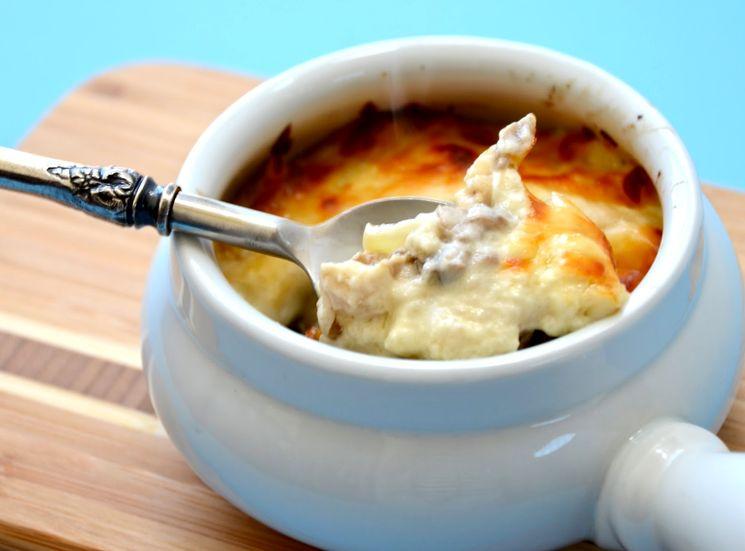 Рецепт жульена с курицей и грибами
